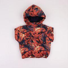 Вітрівка з флісовою підкладкою для дитини (оранжева), Coolton
