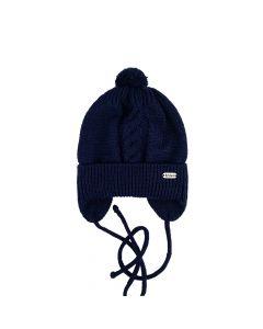 Трикотажна шапка для дитини (темно-синя), Talvi 01396
