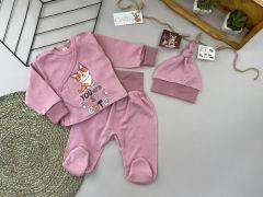 Трикотажний комплект для дитини (рожевий), Lotex 3741-01