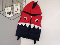 Стильный жилет для мальчика (красный), Boni 209