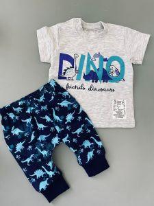 """Трикотажний комплект для дитини """"Dino"""", Мамине чадо 01-211"""