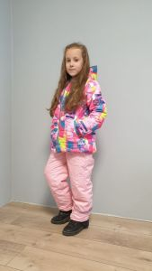 """Зимовий комплект """"Тереза"""" (з рожевими штанами), DC Kids"""