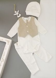 Святковий трикотажний комплект для хлопчика, Little Angel 10823