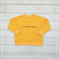 Трикотажний світшот для дитини (жовтий), 103203/3-19