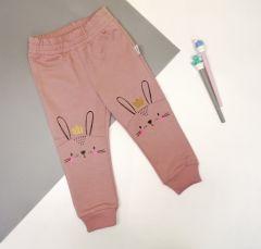 Трикотажні штани для дитини (темна пудра), Robinzone ШТ-328/330