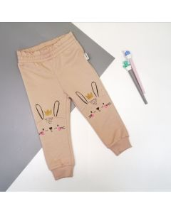 Трикотажні штани для дитини (бежеві) Robinzone ШТ-328/330
