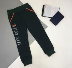 Трикотажні штани для дитини (темно-зелені), Robinzone ШТ-304