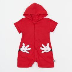 """Трикотажний пісочник """"Mickey Mouse"""" для дитини (червоний), 8КЛ069"""