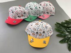 Літня кепка для дівчинки 1 шт. (жовта), Kitti 1100-05