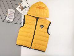 Стильний жилет для хлопчика (жовтий), Boni 504