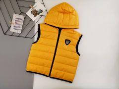 Стильный жилет для мальчика (темно-желтый), Boni 503