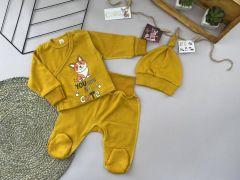 Трикотажний комплект для дитини (жовтий), Lotex 3741-01