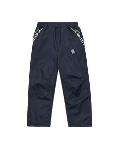 Вітронепродувні штани на байці для дитини (темно-сині), 10ПЛ128