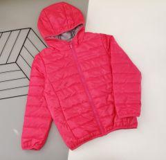 Демісезонна куртка для дівчинки (темно-рожева), 2ПЛ103