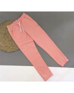Трикотажні штани для дитини (рожеві) Robinzone ШТ-326/346