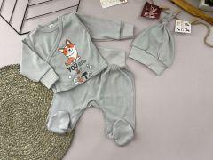 Трикотажний комплект для дитини (сірий), Lotex 3741-01