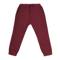 Трикотажні штани з флісовою байкою для дитини (марсал), Ля-ля 10ТФ124