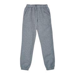 Трикотажні штани з флісовою байкою для дитини (світло-сірі), Ля-ля 10ТФ123/124