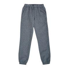 Трикотажні штани з флісовою байкою для дитини (сірі), Ля-ля 10ТФ124