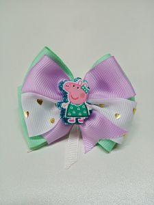 Красива резинка для волосся Peppa Pig, ручна робота