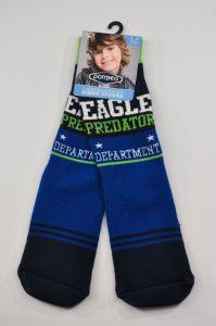 """Теплі шкарпетки для хлопчика """"Full"""" (блакитний), Pompea."""