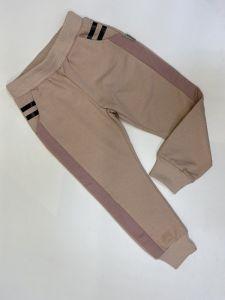 Трикотажні штани для дитини (бежева пудра) Robinzone ШТ-306