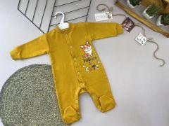 Трикотажний чоловічок для дитини (жовтий), Lotex 360-01