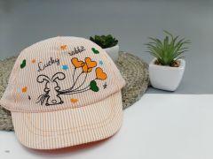 Літня кепка для дівчинки 1 шт. (оранжева), Kitti 1000-11
