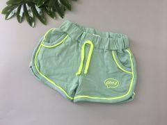 Трикотажні шорти для дівчинки (зелені), 21072 Toontoy
