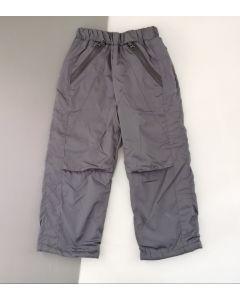 Вітронепродувні штани на байці для дитини (сірі), 10ПЛ106