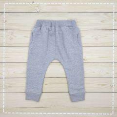 Трикотажні штани для хлопчика (світло-сірі), 107213-3