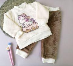 Плюшева піжама для дівчинки, Lotex 3981-21