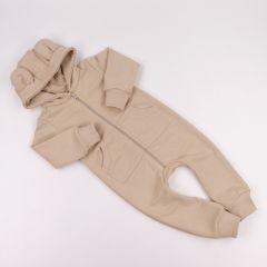 Трикотажний чоловічок з махровою ниткою всередині (бежевий), Coolton