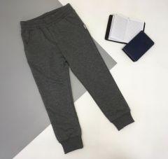 Трикотажні штани для дитини (темно-сірий меланж), Robinzone ШТ-316/317