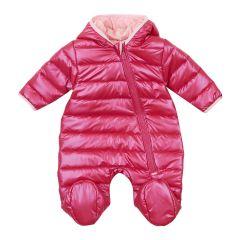 Теплий комбінезон з капюшоном для дитини (рожевий), 8ПЛ063