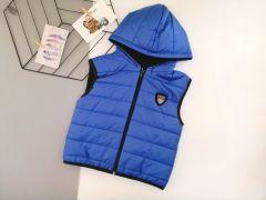 Стильный жилет для мальчика (синий), Boni 503