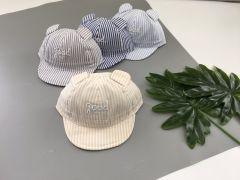 Літня кепка для хлопчика 1 шт. (світло-голуба смужка), Kitti 1010-11