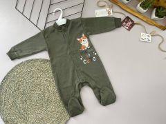 Трикотажний чоловічок для дитини (хакі), Lotex 360-01