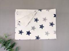 Пеленка непромокаюча (сині зірки), 10885