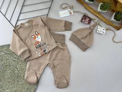 Трикотажний комплект для дитини (бежевий), Lotex 3741-01