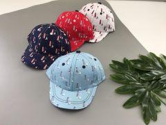 Літня кепка для хлопчика 1 шт. (біла), Kitti 1110-11