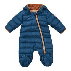 Теплий комбінезон з капюшоном для дитини (темно-синій), 8ПЛ066
