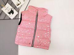 Стильный жилет для девочки (светло-розовый), Boni 170