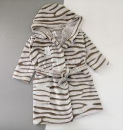 Плюшевий халат з капюшоном для дитини, Lotex 286-21