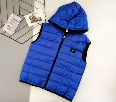 Стильний жилет для хлопчика (синій), Boni 196