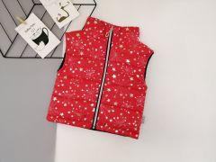 Стильный жилет для девочки (красный), Boni 170