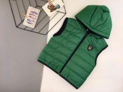 Стильный жилет для мальчика (зеленый), Boni 503
