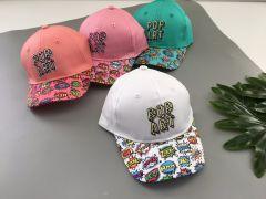 Літня кепка для дівчинки 1 шт. (коралова), Kitti 1200-01