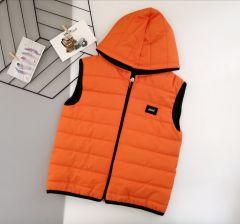 Стильний жилет для хлопчика (оранжева), Boni 196