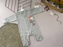 Трикотажний чоловічок для дитини (сірий), Lotex 360-01